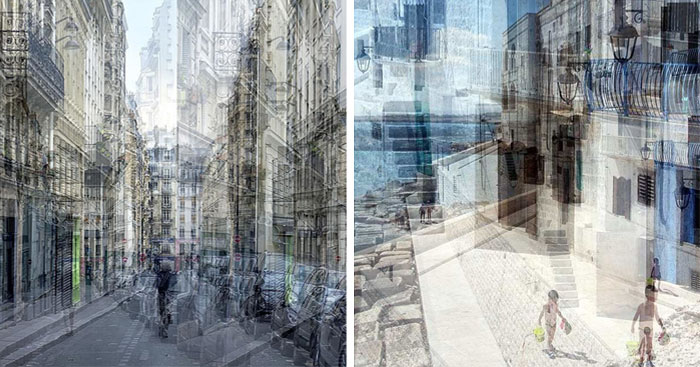 I Create Superimpositions Of Different Photos To Show The Contemporary Life Of Metropolises (73 New Pics)
