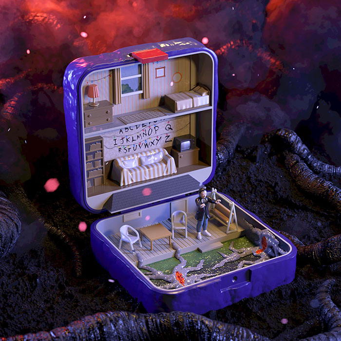 6 Iconic Homes From Movies And TV Shows Made Into Polly Pocket Playhouses By TheToyZone