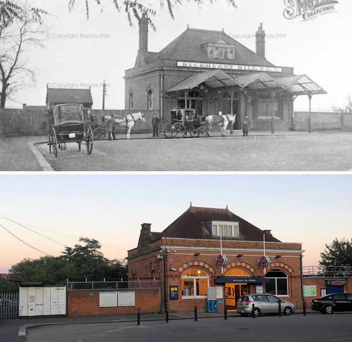 Buckhurst Hill Station (London Underground Station) - (1875 - 2020)