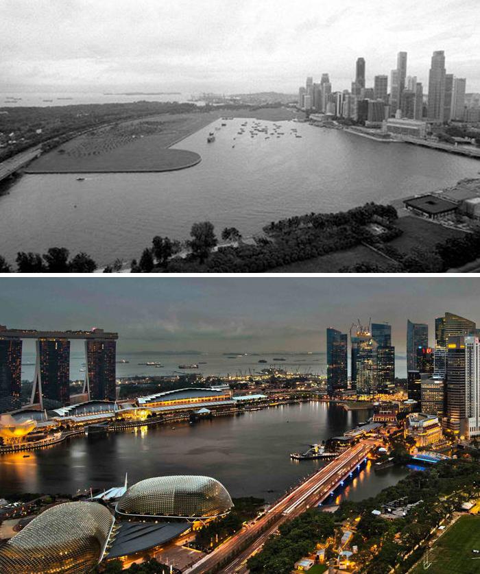 Singapore 2000 vs. Now