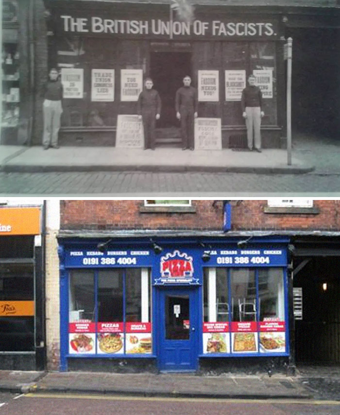 From Fascism To Kebabs, Durham 1934 vs. 2020