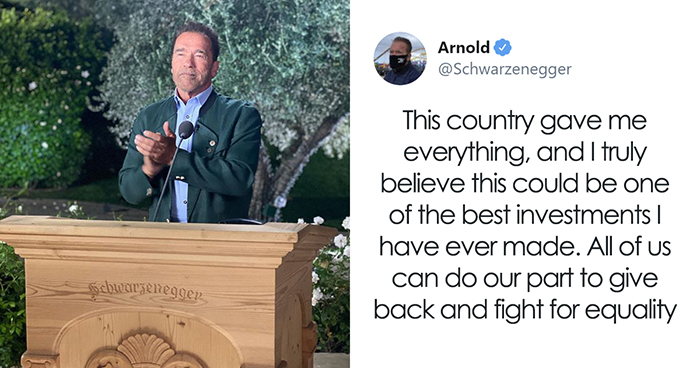 Arnold Schwarzenegger Offers To Reopen Polling Places Across The USA By Paying Out Of His Own Pocket