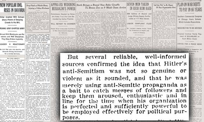On Hitler, 1922