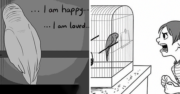 Artist Who Made People Cry With Her Animal Comics Is Back With Another Tearjerker, And It Might Be Her Saddest One Yet