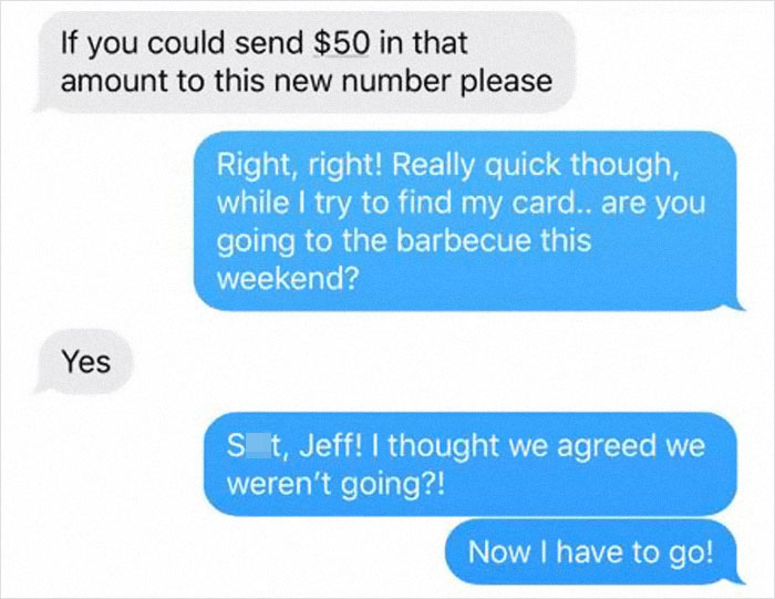 Scammer Gets Trolled So Badly, They Ask The Person To Stop Responding