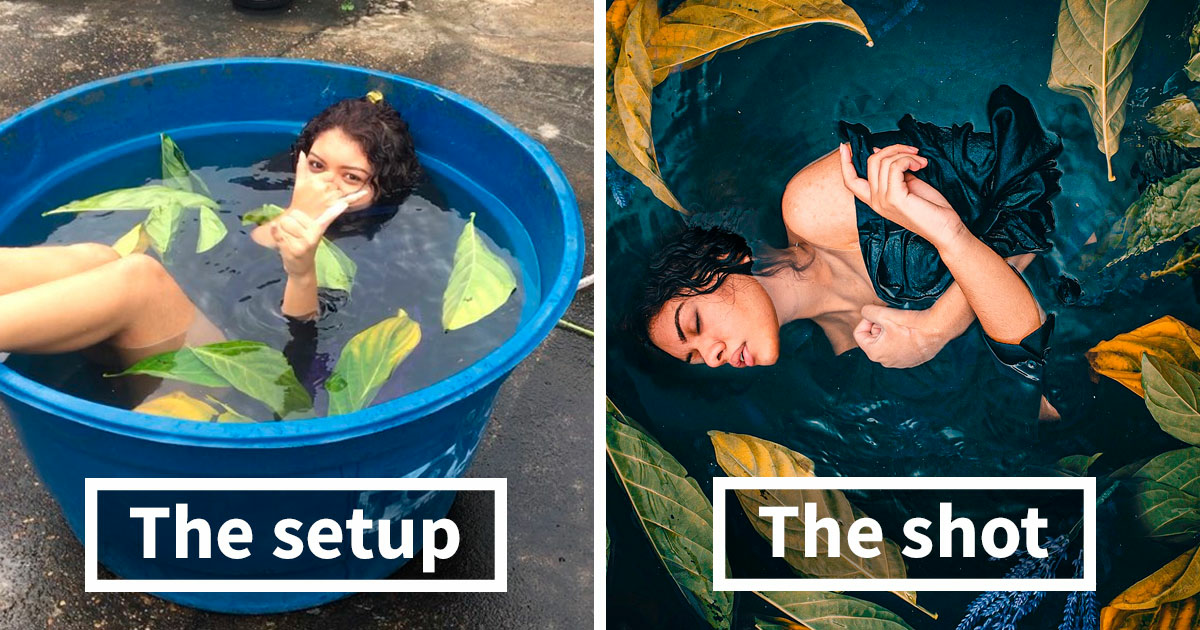 Photographers Are Sharing 'The Setup Vs. The Shot' Pics That Reveal The Reality Behind Insta-Perfect Pictures