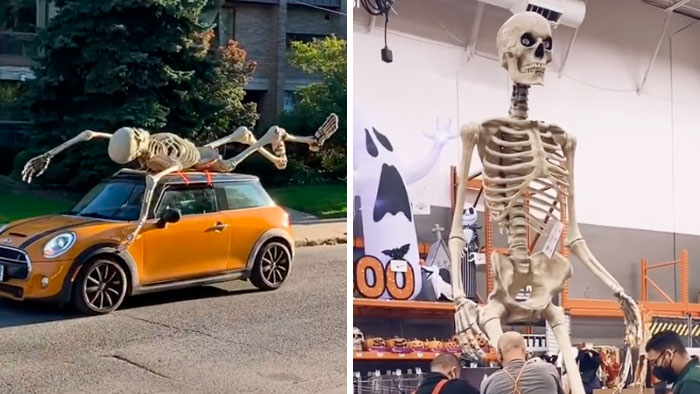 For Halloween 2020, Home Depot Is Selling These 12-Foot Skeletons