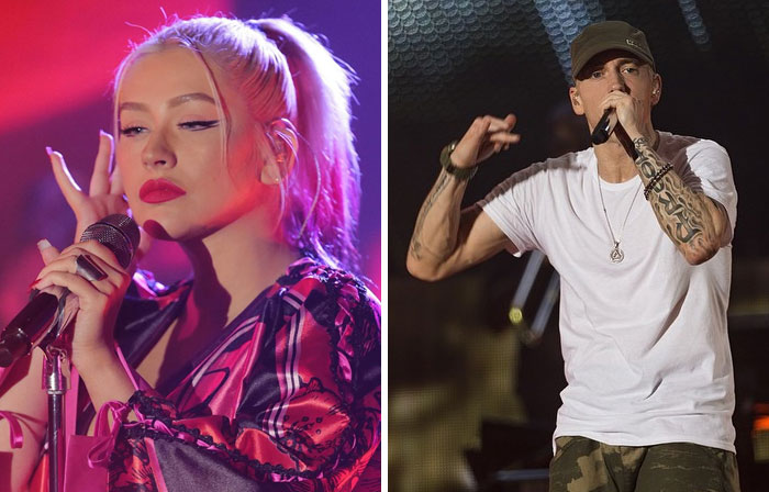 "Christina Aguilera Wrote ""Can't Hold Us Down"" As A Response To Eminem's Negative Comments About Her"