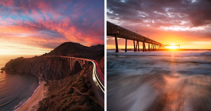 I Capture The Beauty Of California As The Sun Sets And Rises (16 Pics)