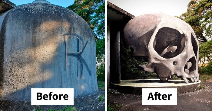 Graffiti Artist Who Got Famous For His 3D Murals Continues Doing What He Does Best (30 New Pics)