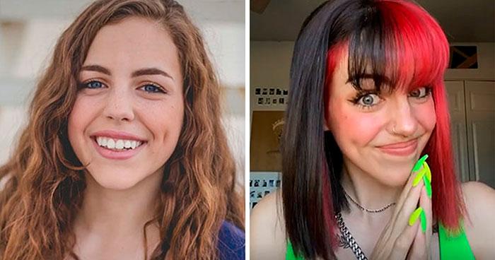 La gente comparte fotos de sus cambios personales tras mudarse de los hogares conservadores en los que se criaron