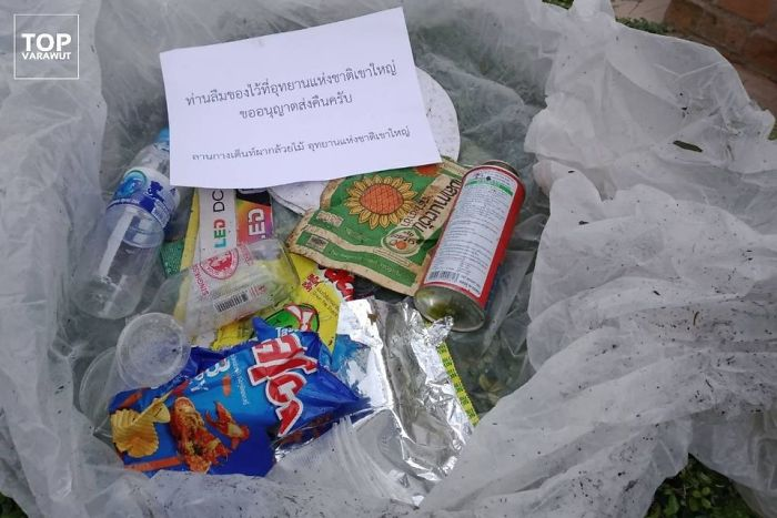 This Nationwide Park In Thailand Had Sufficient Of Vacationers Littering, So They Began Mailing The Trash Vacationers Left Behind Again To Their Houses