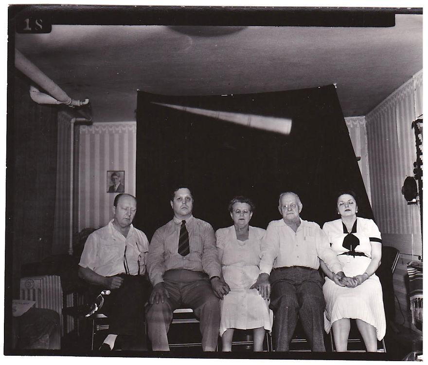 Jack Edwards, Spirit Photo From The 1950s