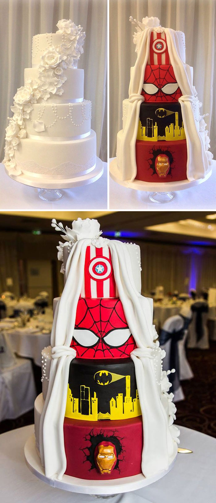 Secret Identity Of A Wedding Cake
