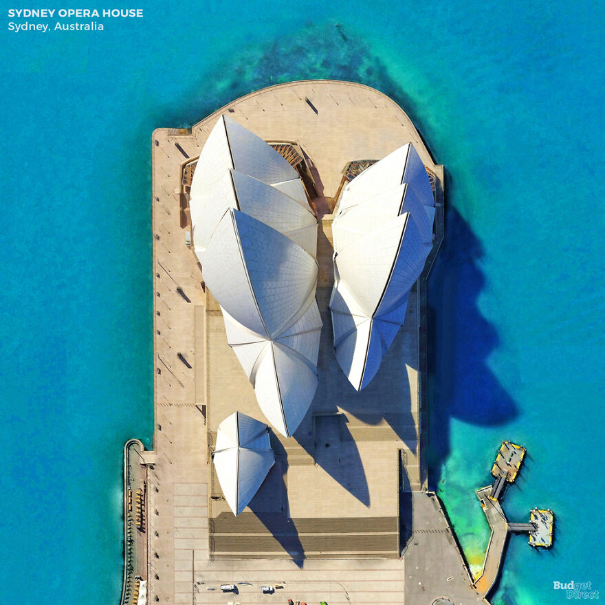 This Is What 6 Iconic Landmarks Look Like From Above