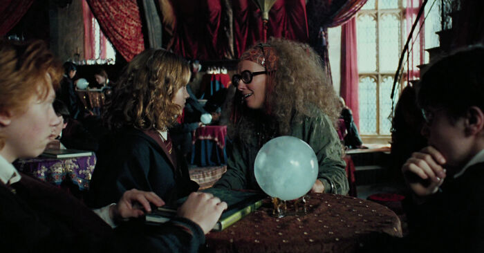 The Battle Of Hogwarts Also Included Dropping Crystal Balls And A Transformed Desk Stampede Against The Death Eaters