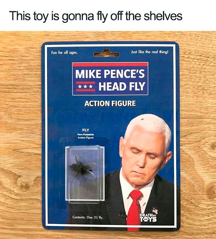 Funny-Mike-Pence-Fly-Landing-Reactions