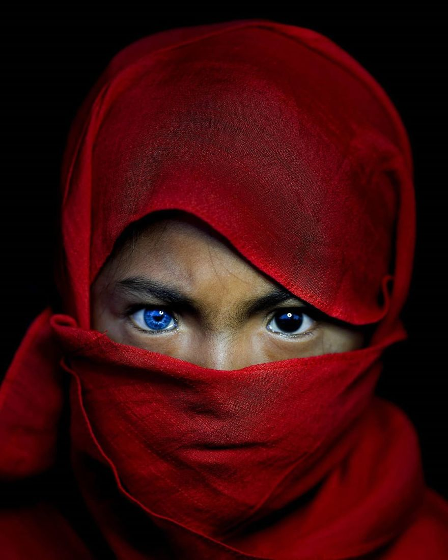 Tribe In Buton Island, Indonesia, Have Electric Blue Eyes Due To A Genetic Fluke