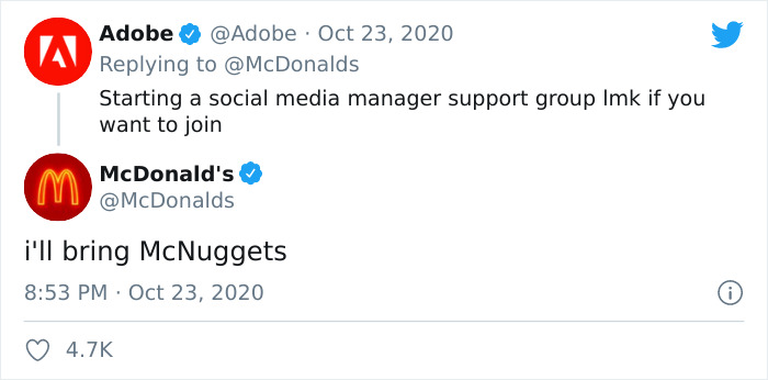 Individual Working The McDonald's Twitter Account Shares How No one Ever Asks How He is Doing, Receives Assist From Varied Well-known Model Accounts