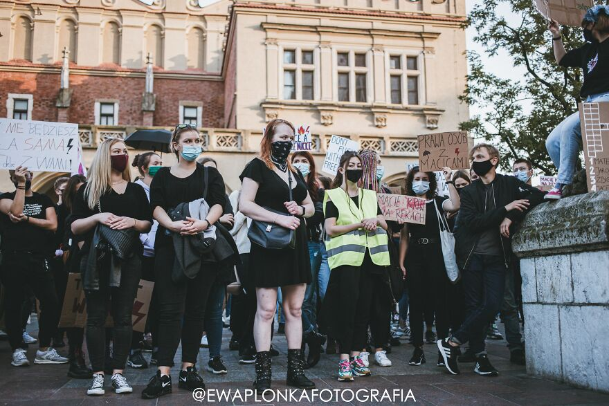 People Are Protesting In Poland Against New Laws That Ban Abortion