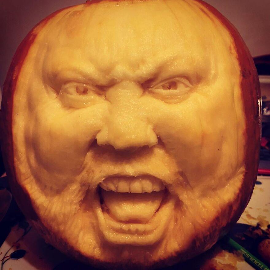 A Beast Of A Pumpkin