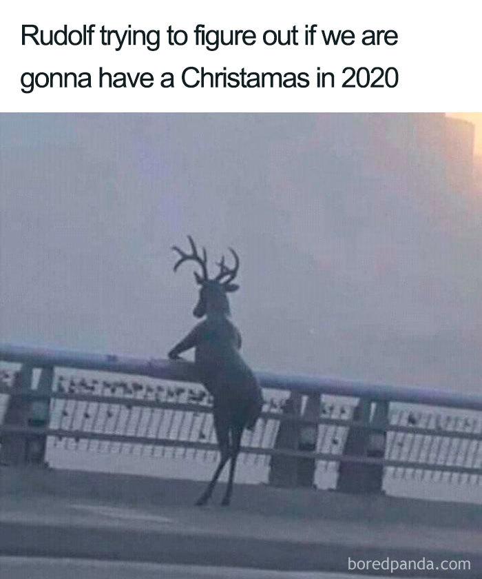 Nah, Santa Died From Covid