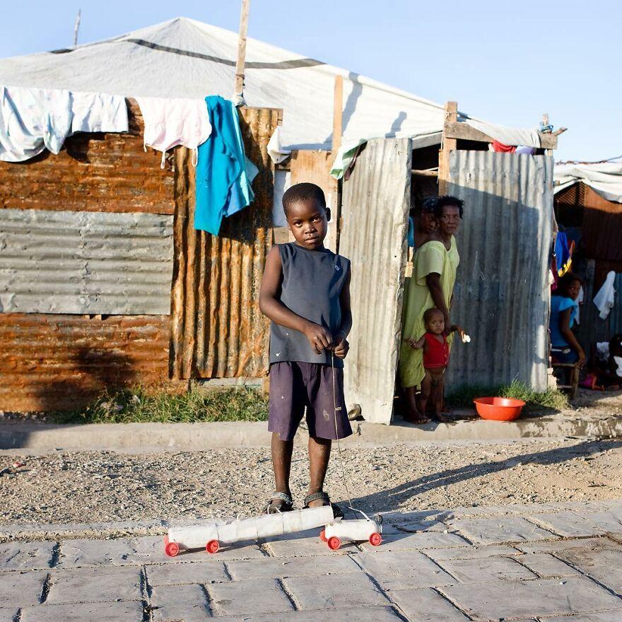 Rivaldo Fesna, 5 , Port-Au-Prince , Haiti