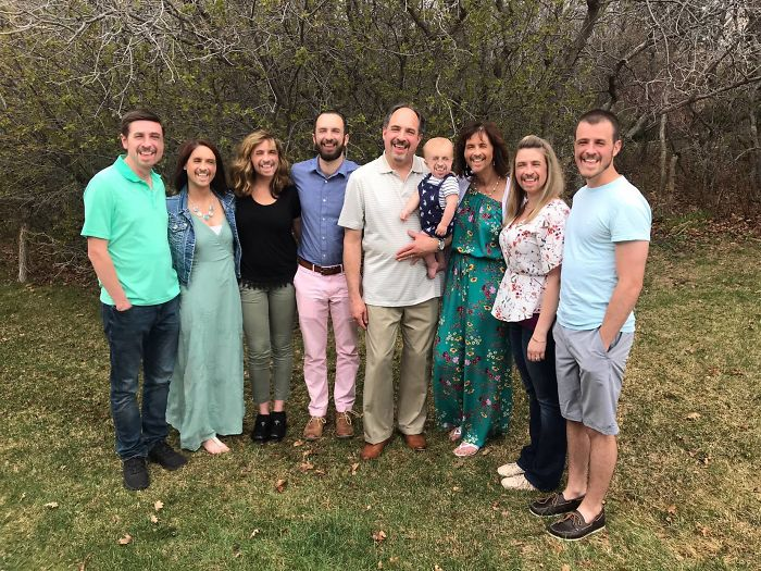 My Wife's Family Likes To Take A Photo Together On Easter. I Like To Provide Some Minor Alterations