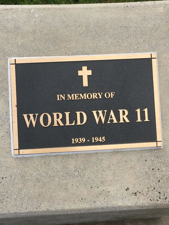 This Plaque Near My House
