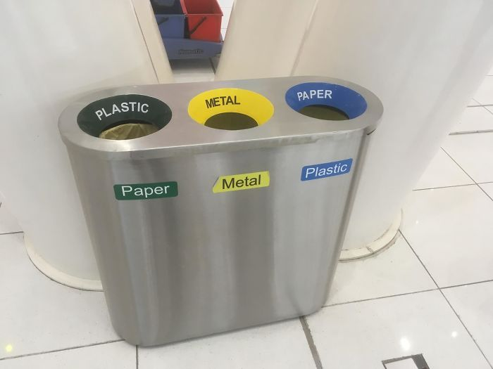 A Recycling Bin Isn't Supposed To Be A Logic Puzzle