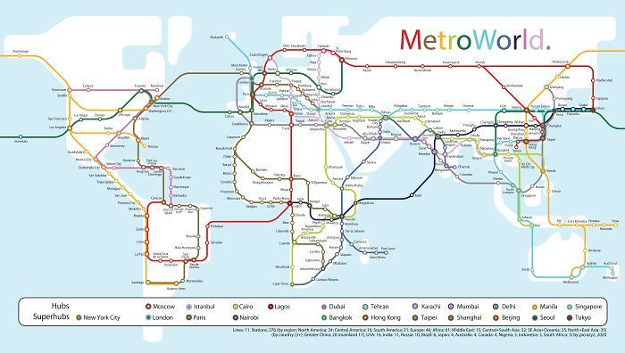 New Take On The Concept Of A World Metro