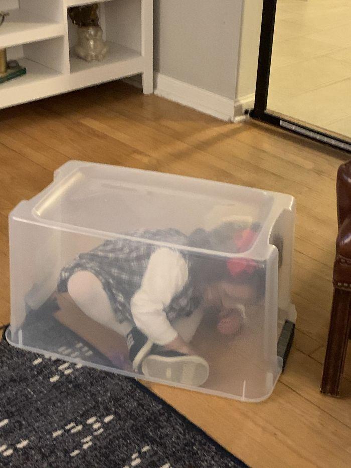 My Niece's Hiding Spot