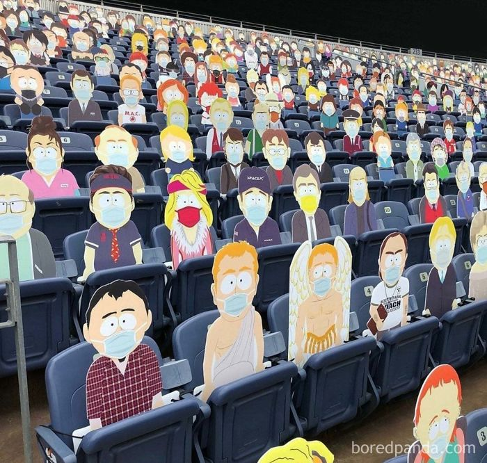 The Denver Broncos Have The Entire Town Of 'South Park' In The Stands For Today's Nfl Game