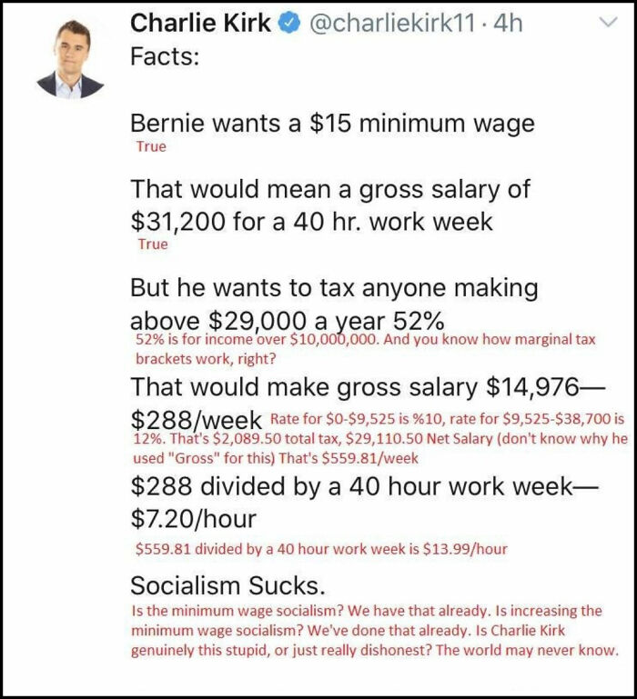 You Can Disagree With An Opinion, But The Math Never Lies