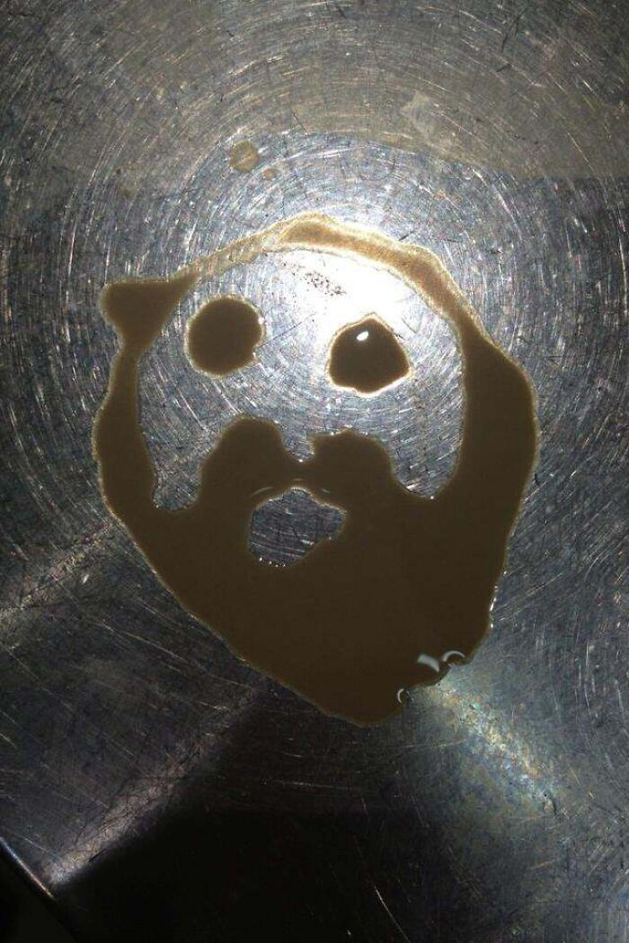 Totally Legitimate Jesus In My Coffee Spill