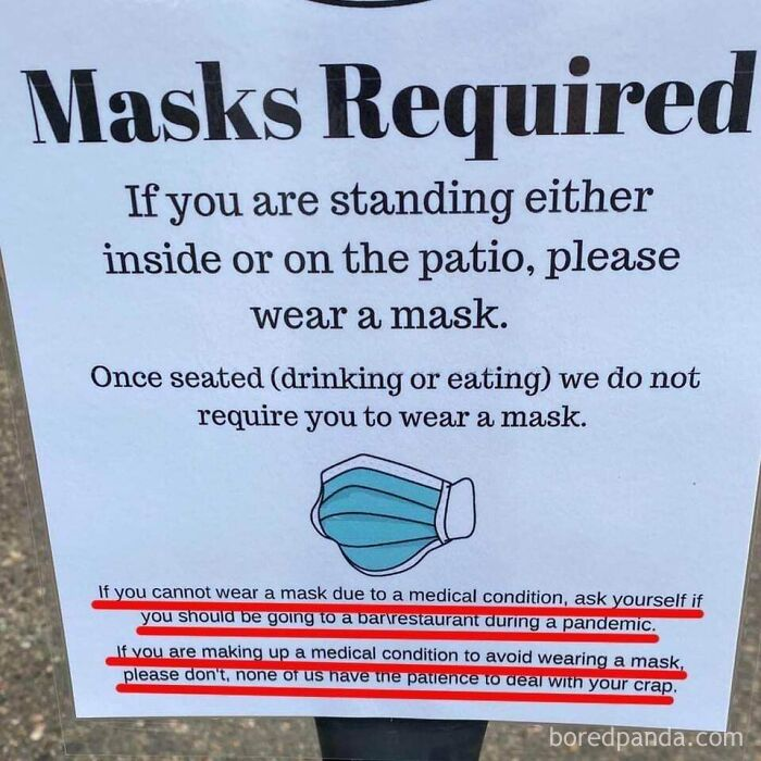 A Really Good Mask Sign