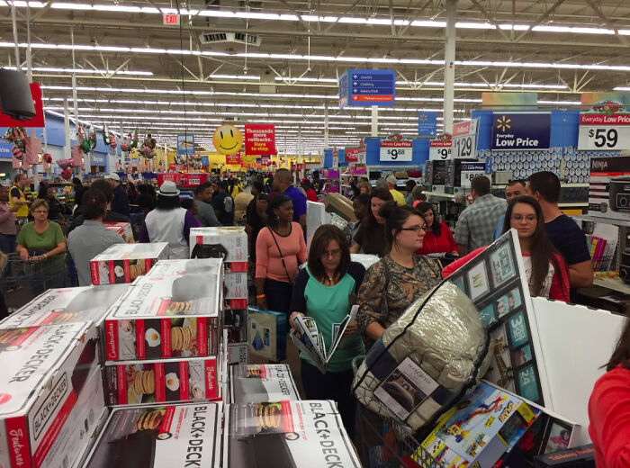 """Black Friday As A Wal-Mart Employee."""