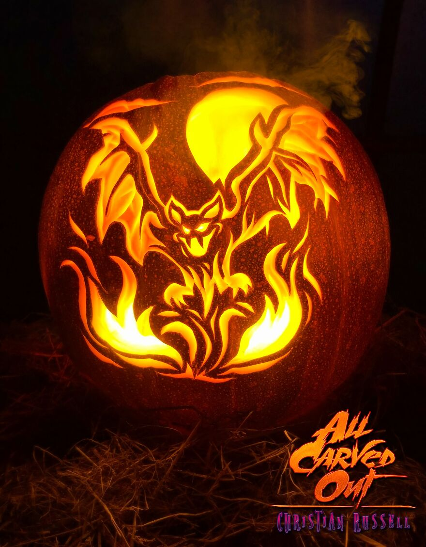 """Flaming Bat"""