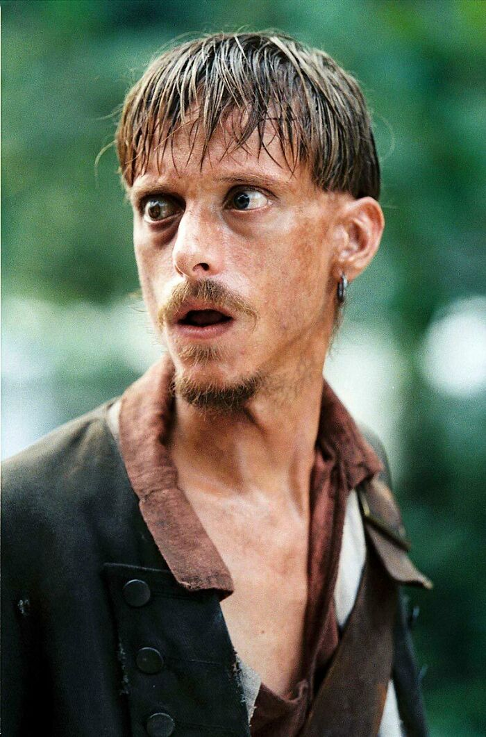 "In Pirates Of The Caribbean: Dead Man's Chest (2006), Actor Mackenzie Crook Had To Wear Two Contact Lenses On Top Of One Another, To Portray His Characters Wooden Eye. He Said: ""It's Uncomfortable…but Not Painful. And It Helps The Character, Because Without It, I'm Just Any Other Pirate."""
