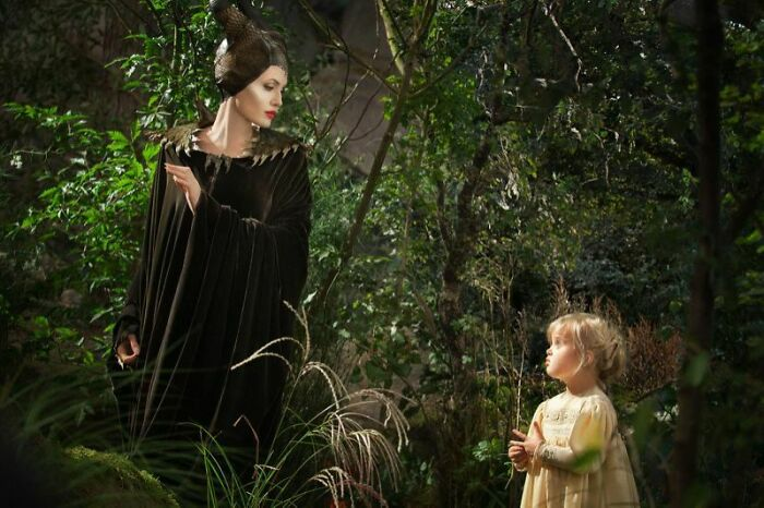 In Maleficent (2014), The Young Aurora Was Played By Angelina Jolie's Daughter Vivienne. The 5-Year-Old Got The Part Because She Was The Only Child Who Wasn't Terrified Of Jolie In Her Maleficent Makeup. Several Other Younger Children Auditioned And Wouldn't Go Near Her
