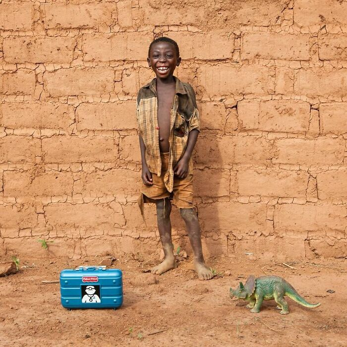 Kafele, 5 años, Mkanda, Malawi