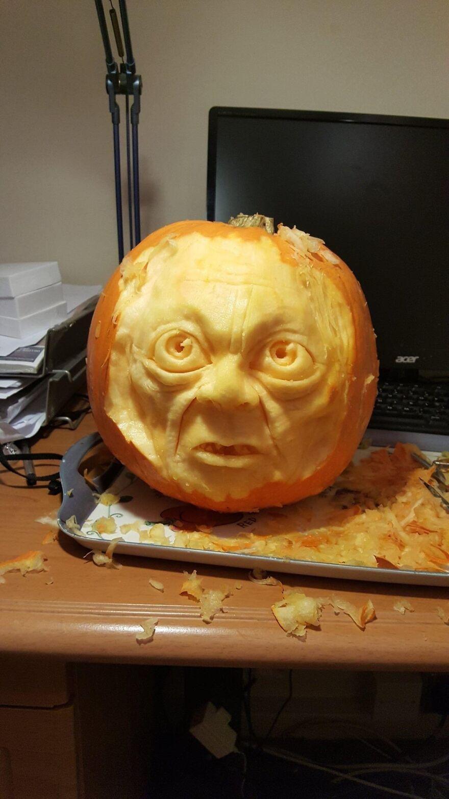Gollum (Running Out Of Pumpkin Names!)