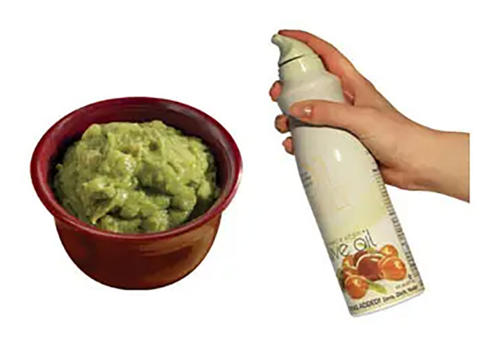 Spray Leftover Guacamole With Cooking Spray Before Putting It Back In The Fridge