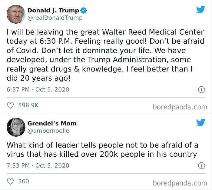 Don't Be Afraid You Said?