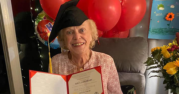 93 Y.O. Virginia Woman Gets Diploma 75 Years After She Was Forced To Quit High School