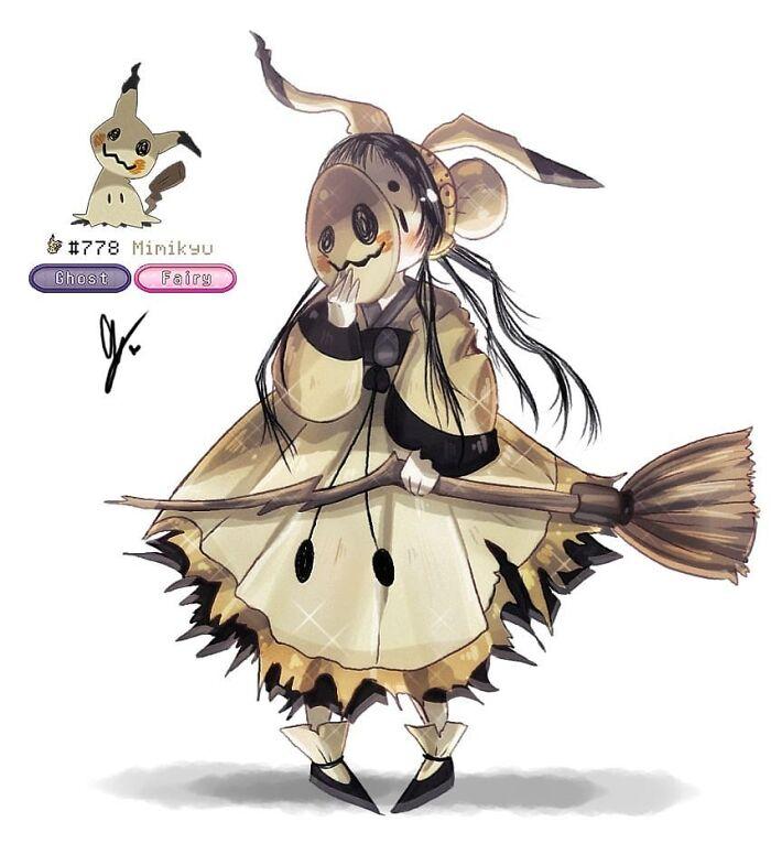 Mimiki The Mimikyu