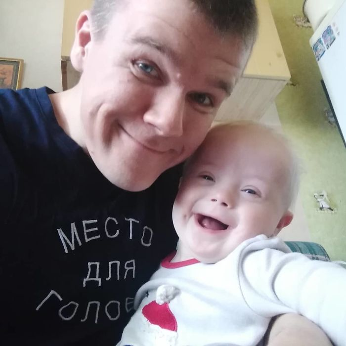 Mom Wanted To Give Her Son With Down Syndrome To Foster Care, The Father Decided To Raise His Child All On His Own