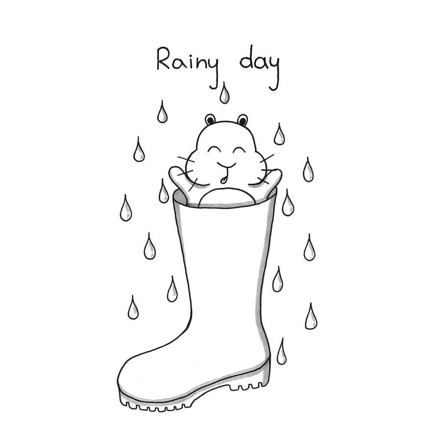 And... It's Raining!