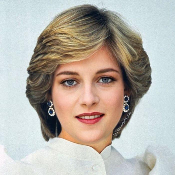 Lady Diana + Kristen Stewart