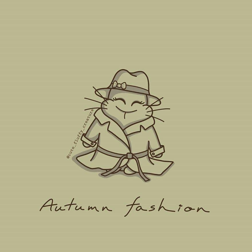 Cutie, Sonbahar Sezonu İçin Yeni Bir Moda Etkileyicisidir